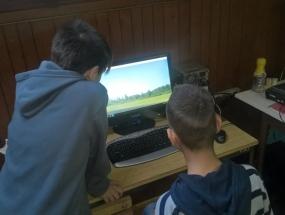 Simulator za upravljanje zrakoplova RC